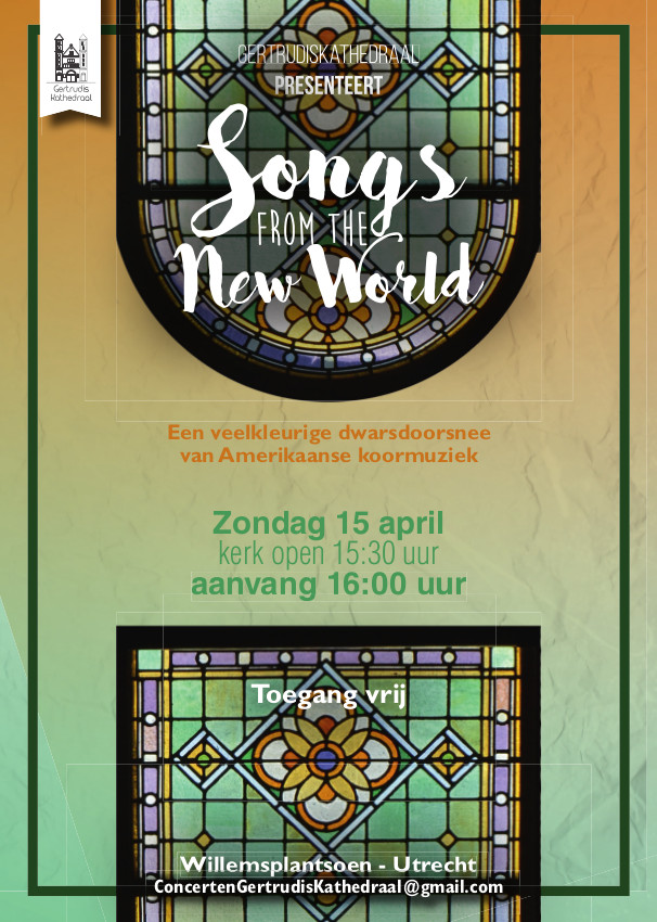 Uitgaansagenda Utrecht: Photonen Zingt Songs From The New World