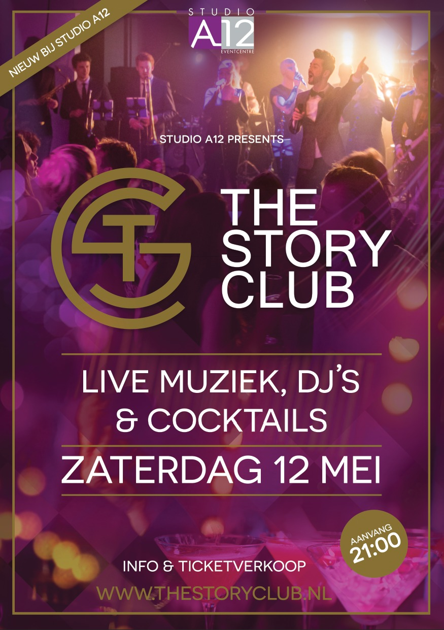Uitgaansagenda Bunnik: The Story Club Clubnight